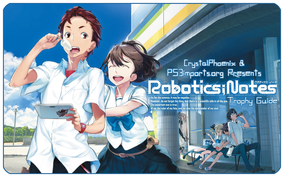 Robotics Notes Tropy Guide Roadmap Ps3 Vita Trophy Guides